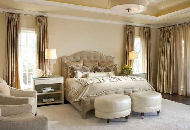 Transitional Bedroom by Ellen Grasso & Sons, LLC