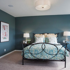 Transitional Bedroom by Excel Homes