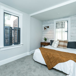 This is an example of a country bedroom in Baltimore.