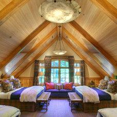 Rustic Bedroom by Lloyd's Custom Woodwork, Inc.