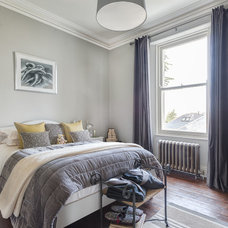 Transitional Bedroom by Colin Cadle Photography