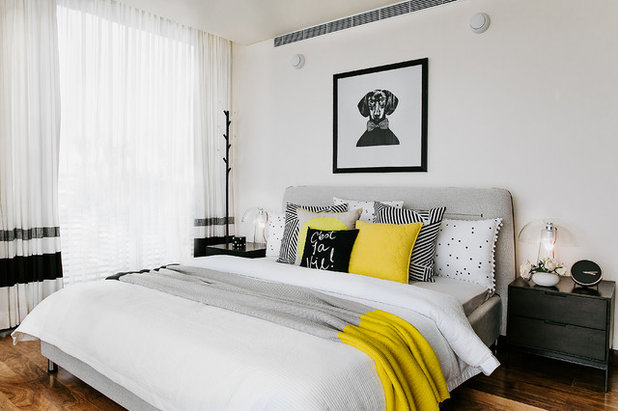 Contemporary Bedroom by Shalini George Interiors