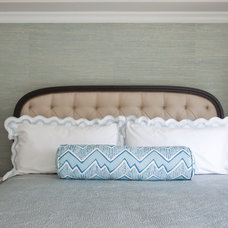 Transitional Bedroom by Emily Ruddo