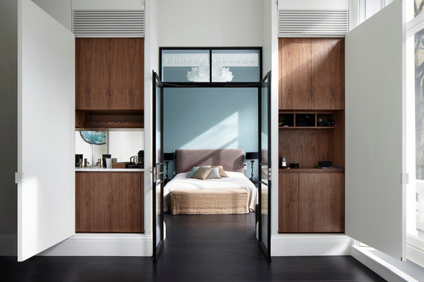 houzzbesuch glamour se familienwohnung mit industrial touch in london. Black Bedroom Furniture Sets. Home Design Ideas