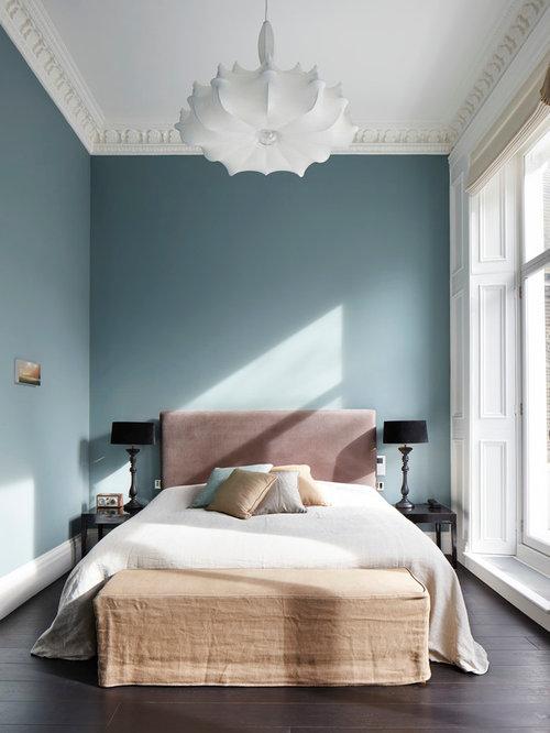 Blue Bedroom Walls   Houzz SaveEmail. Bedroom Wall. Home Design Ideas