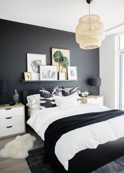 Contemporary Bedroom by Nest Design Studio