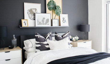22 Ideas for Bedrooms with Black Walls