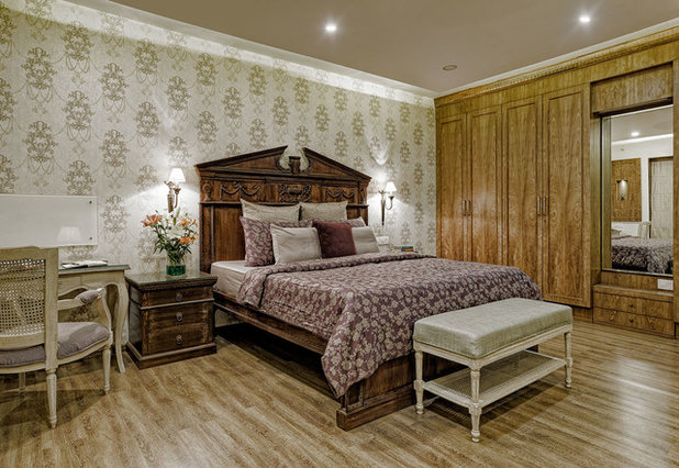 . 9 Alluring Bedrooms With a Brown   Cream Colour Scheme