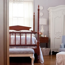 Traditional Bedroom by Kristie Barnett, The Decorologist