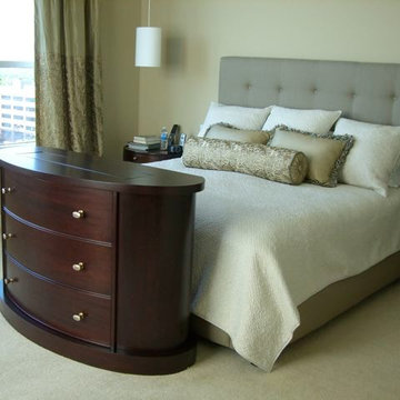 End of bed TV lift modern furniture by Cabinet Tronix