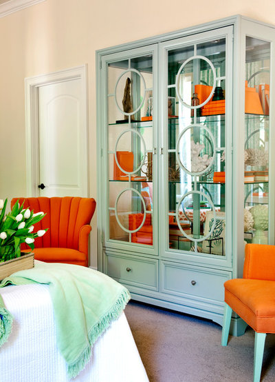 Beach Style Bedroom by Tobi Fairley Interior Design
