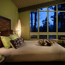 Eclectic Bedroom by Hilary Young Design Associates