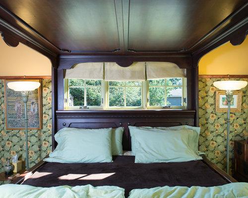 rustikale schlafzimmer mit linoleumboden einrichten. Black Bedroom Furniture Sets. Home Design Ideas