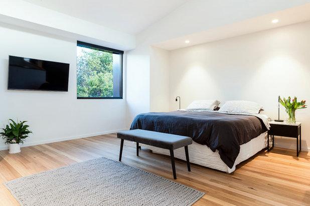 Contemporary Bedroom by Amrish Maharaj Architect