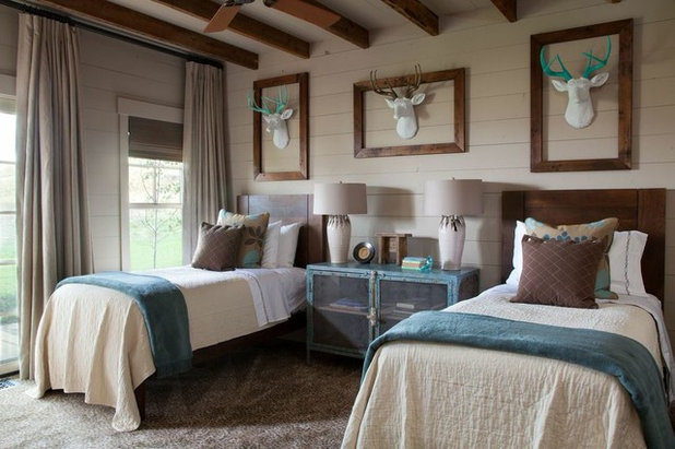 Spectacular Rustic Bedroom by Carter Kay Interiors