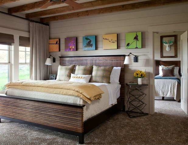 Beautiful Rustic Bedroom by Carter Kay Interiors