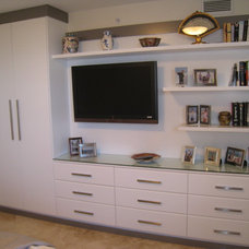 Contemporary Bedroom by Artisan Closets and Trim Inc