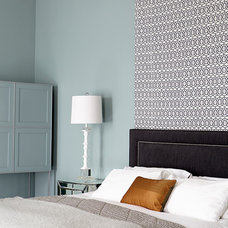 Transitional Bedroom by Eoin Lyons Interiors