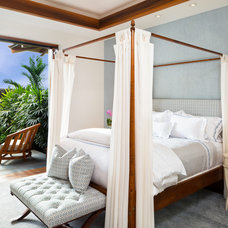 Tropical Bedroom by Eric Cohler Design