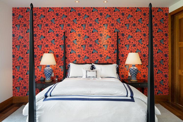 Тропический Спальня by Eric Cohler Design
