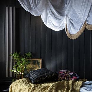 ウエストミッドランズの小さいヴィクトリアン調のおしゃれな寝室