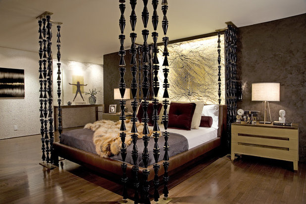 Contemporary Bedroom by Annette English & Associates