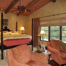 Mediterranean Bedroom by Steve Richmond Fine Homes