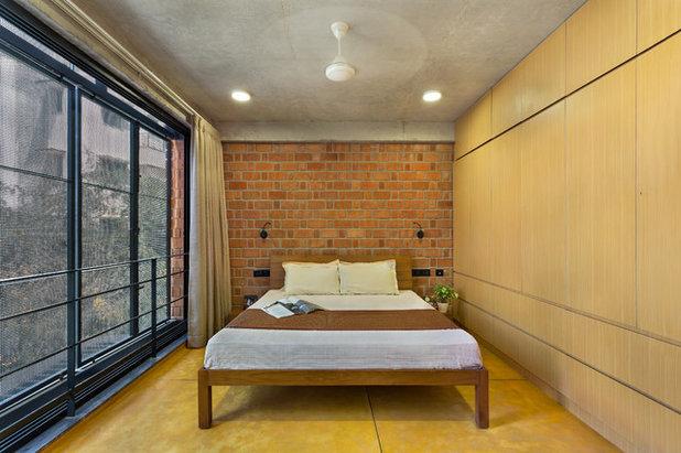 Contemporary Bedroom by Between Spaces