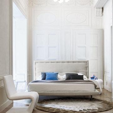 Eureka Platform Bed by Bonaldo