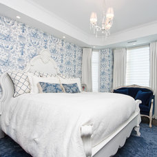 Traditional Bedroom by Cindy Ross Interior Design