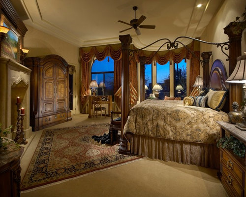 Stone Interior Bedroom Design Ideas Renovations Photos With A Corner F