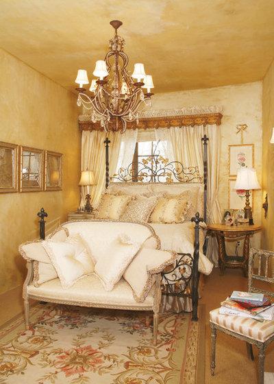 Mediterranean Bedroom by Bruce Kading Interior Design