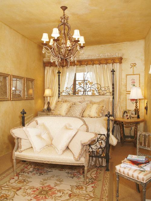 Mediterranean Bedroom Idea In Minneapolis With Beige Walls Part 81