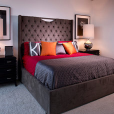 Contemporary Bedroom by Evolution By Design Inc.