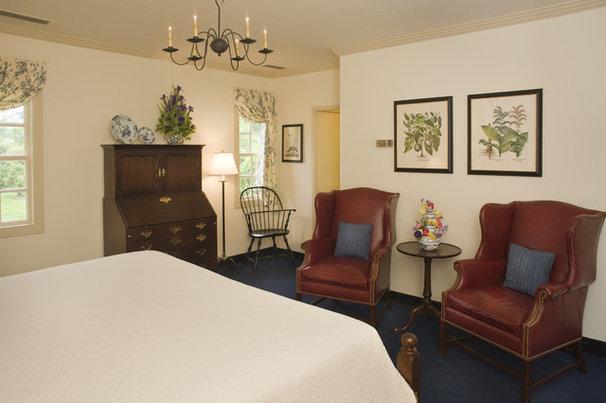 Farmhouse Bedroom Ewing House Colonial Williamsburg