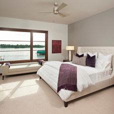 Contemporary Bedroom by Eskuche Design