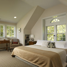 Contemporary Bedroom by Krieger + Associates Architects Inc