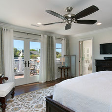 Traditional Bedroom by Kevin Rugee Architect, Inc.