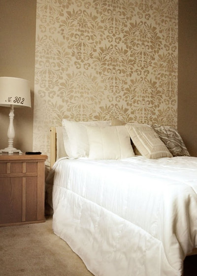 Stunning Stencil Camera Da Letto Photos - Design Trends 2017 ...
