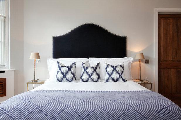 Transitional Bedroom by Carter Wells London - Interior Designer Agency