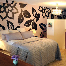 Contemporary Bedroom by Faiella Design