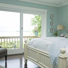 Beach Style Bedroom by Taste Design Inc