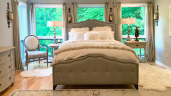 Fall into bed and feel the luxurious comfort of plush textures lull you to sleep