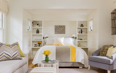 How to Make Open Storage Work in a Bedroom