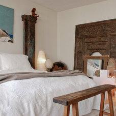 Eclectic Bedroom by Heather Merenda
