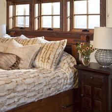 Rustic Bedroom by Swaback Partners, pllc