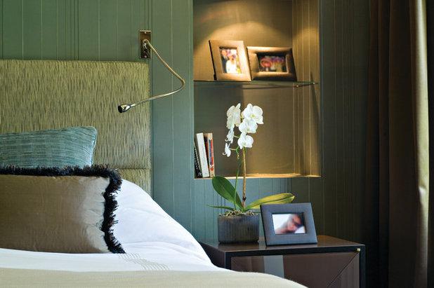 Transitional Bedroom by Blanchard Ltd