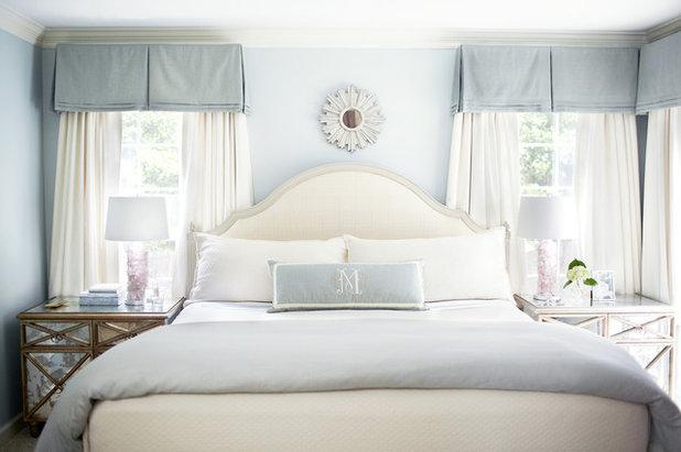 Transitional Bedroom by Kara Cox Interiors