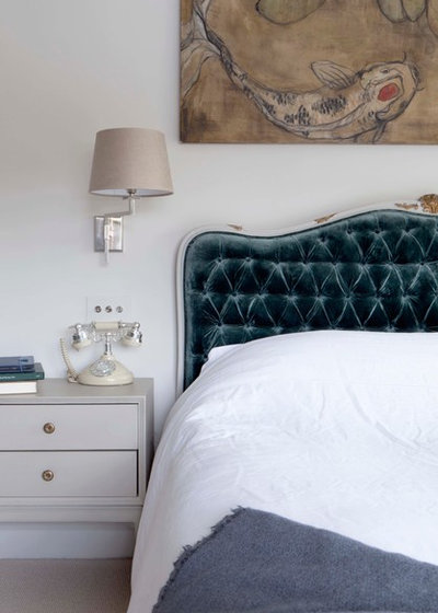 Eclectic Bedroom by Fiona Andrews Interiors