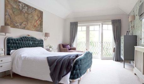 Få hotellkänsla i sovrummet med dessa enkla tips och ting